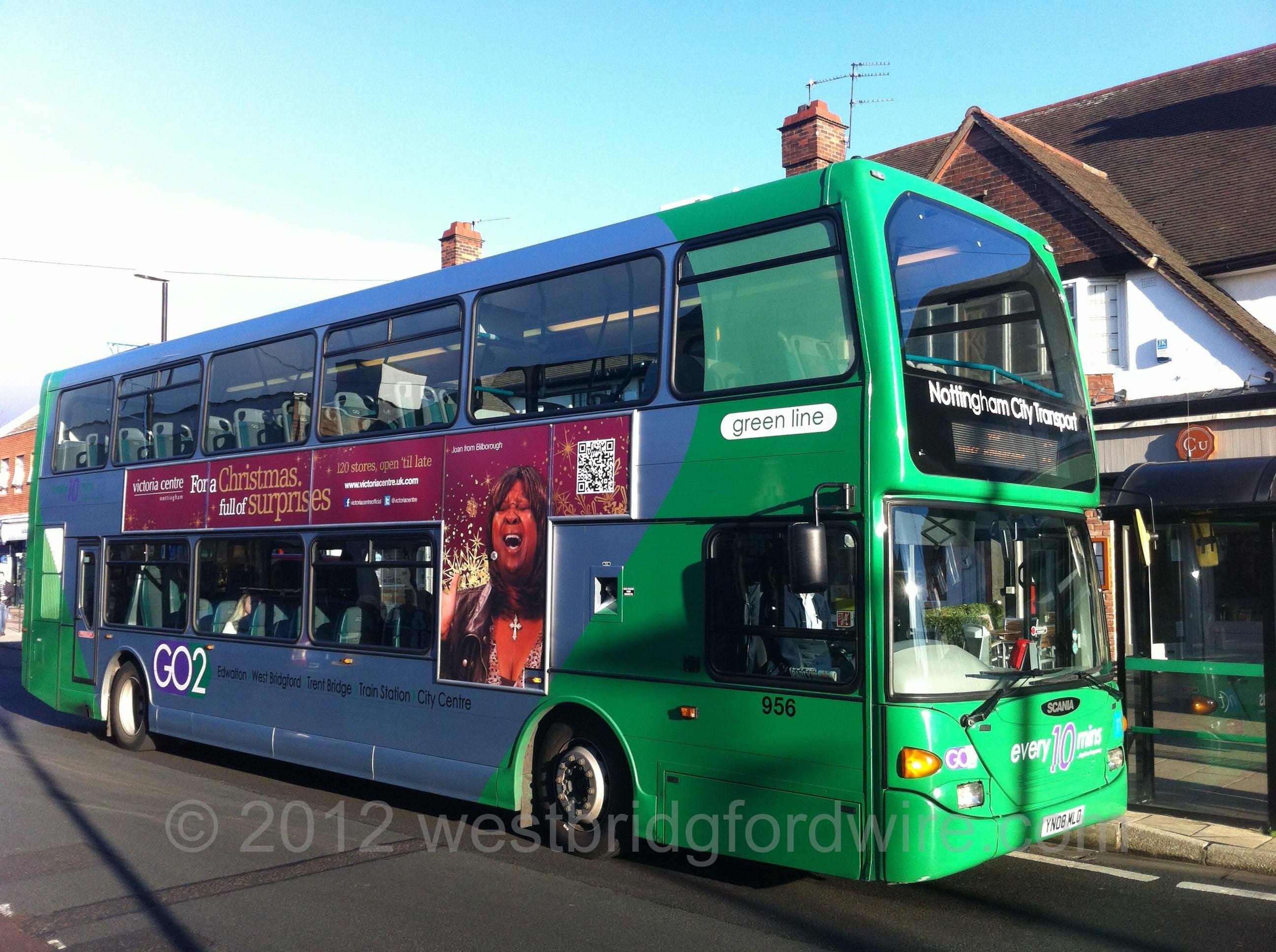 NCT Bus Central Avenue West Bridgford
