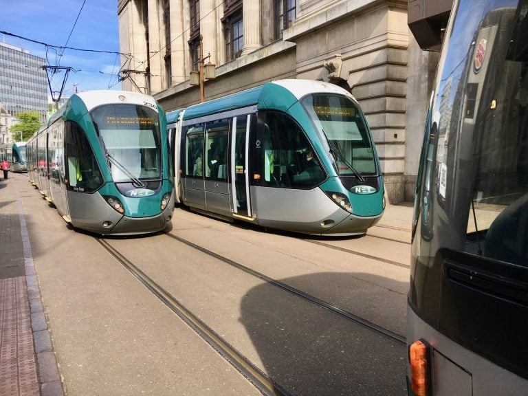 Trams: No service from Royal Centre – Nottingham Station because of a tram fault