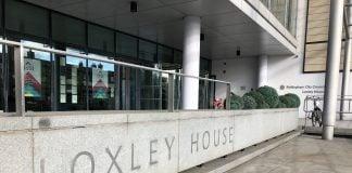 Nottingham City Council offices Loxley House © westbridgfordwire.com