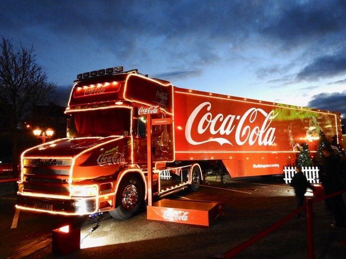Coca Cola Truck UK