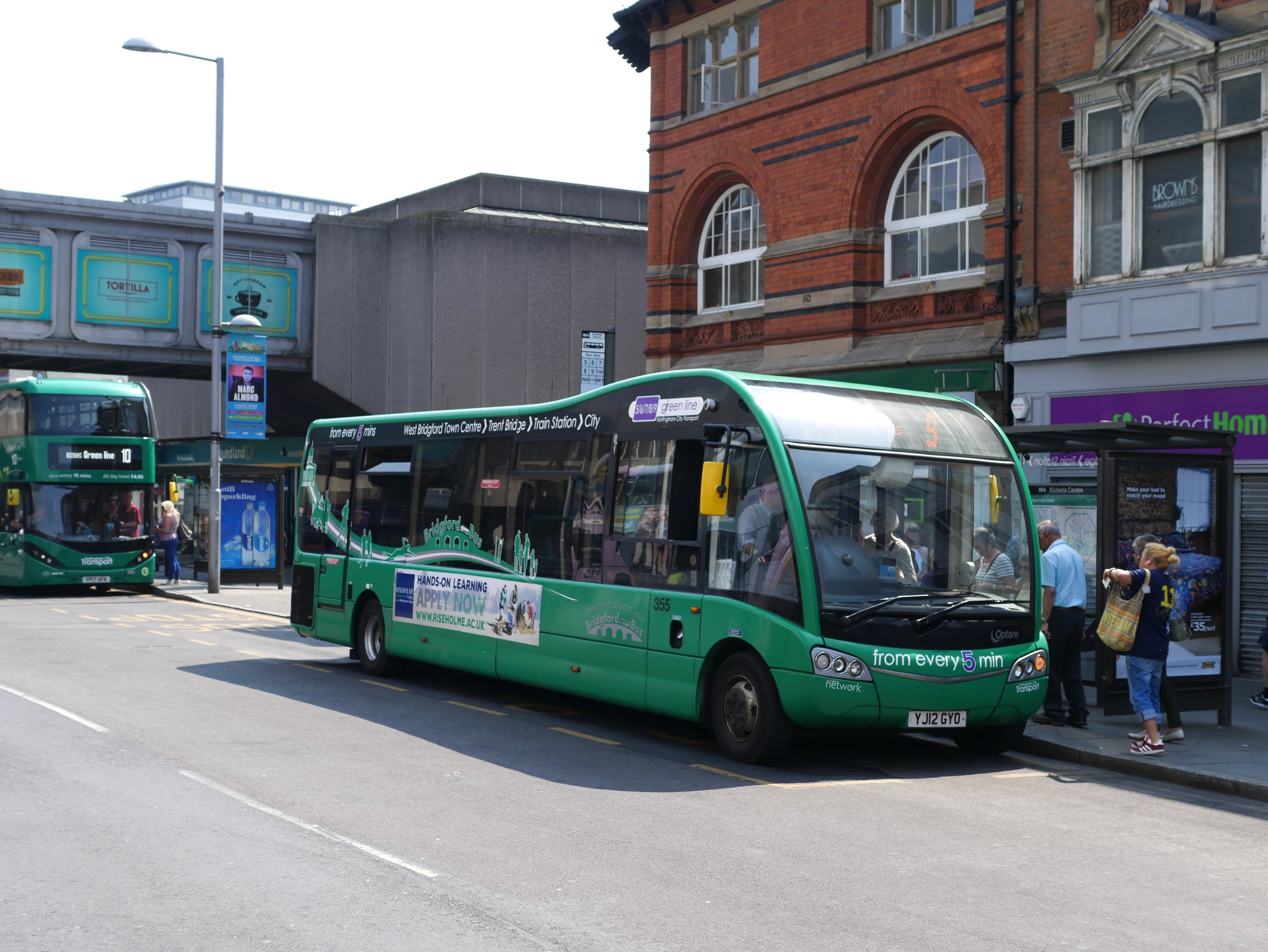 Nottingham Buses And Trams To Take Apple Pay And Contactless Cards By 2019  E2 80 A2 West Bridgford Wire