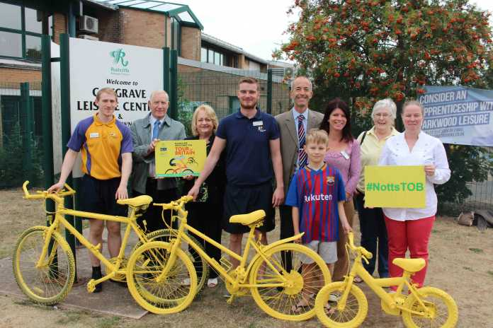 Groups and Councillors in Cotgrave cant wait for the Tour of Britain