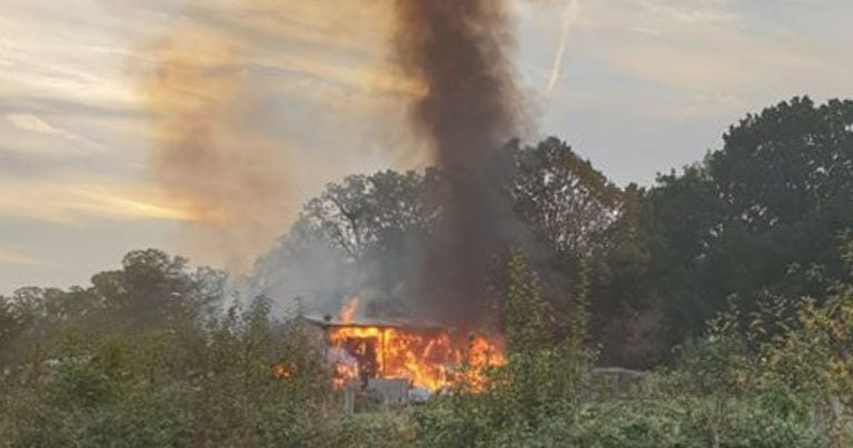 Nottingham firefighters spent 598 hours fighting deliberate fires so far this year