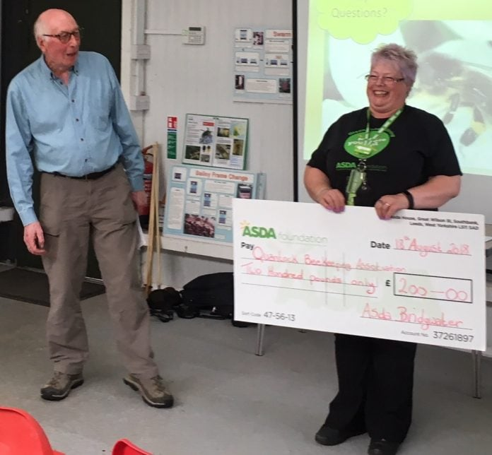 Bee Keeper Cheque