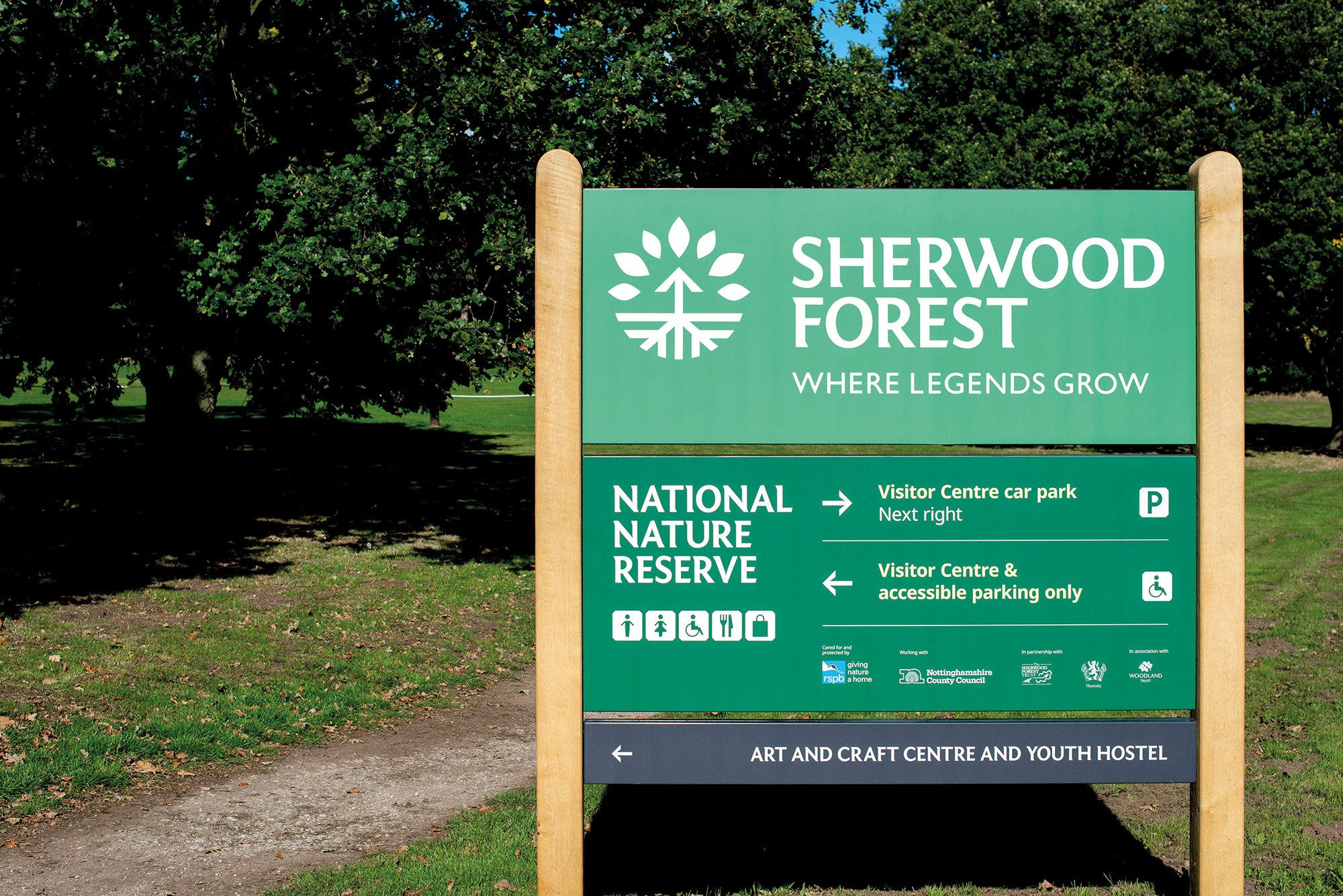 Video: Sherwood Forest visitor centre officially opened • West