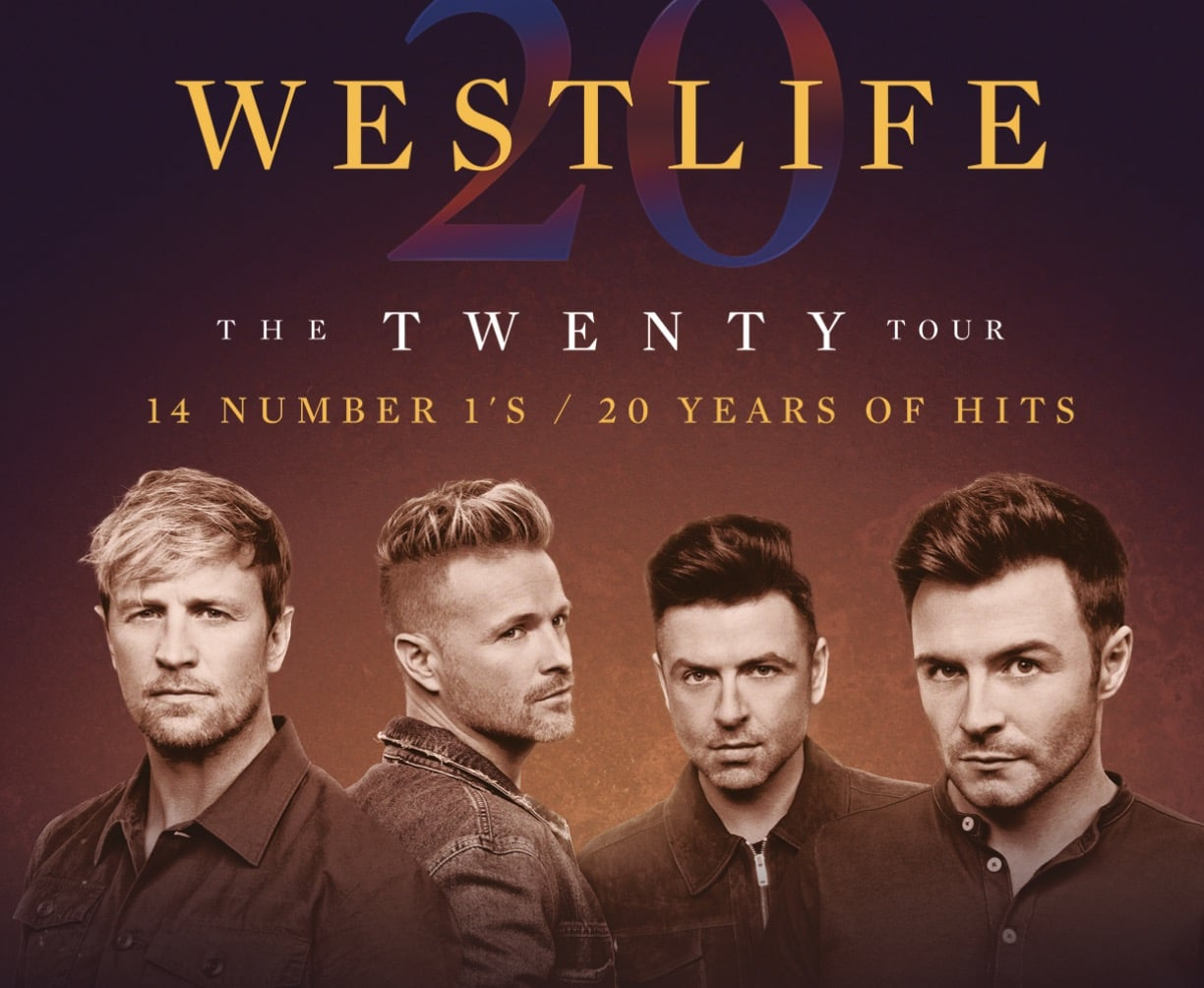 Westlife announced Nottingham date on UK and Ireland Tour • West ...