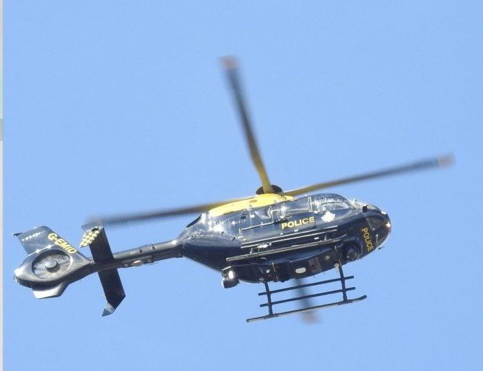 NPAS G-EMID helicopter