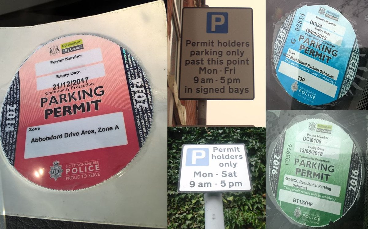 City residential parking scheme misuse hit hard by ... on