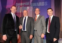 Nigel Baxter, Managing Director at RHCV (centre left) and Paul Pearson, Commercial Director at RHCV (centre right)