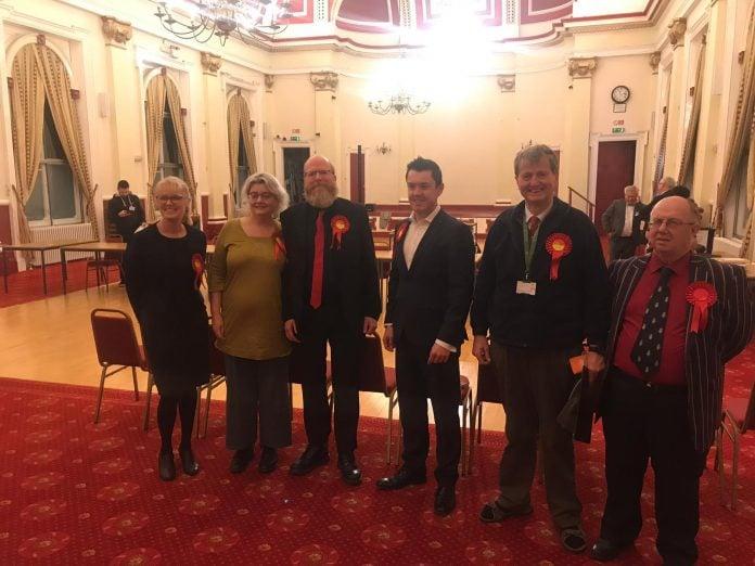 Winning councillor