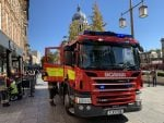 File image A Nottinghamshire Fire & Rescue Service vehicle in Nottingham © westbridgfordwire.com