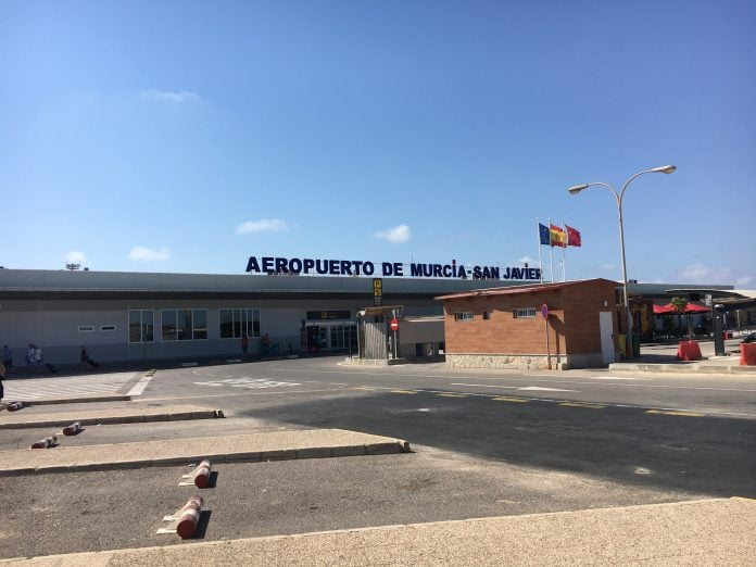 The new airport replaces San Javier © westbridgfordwire.com