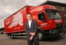 Joe Partner, Branch Manager of Europa Road in Nottingham