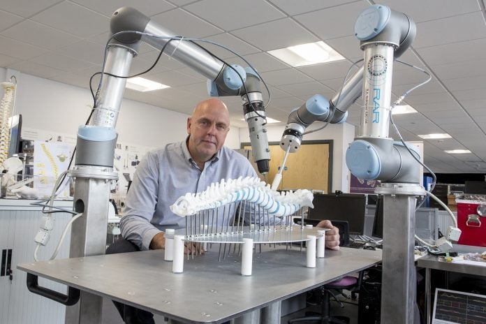 Robots to perform spinal surgery