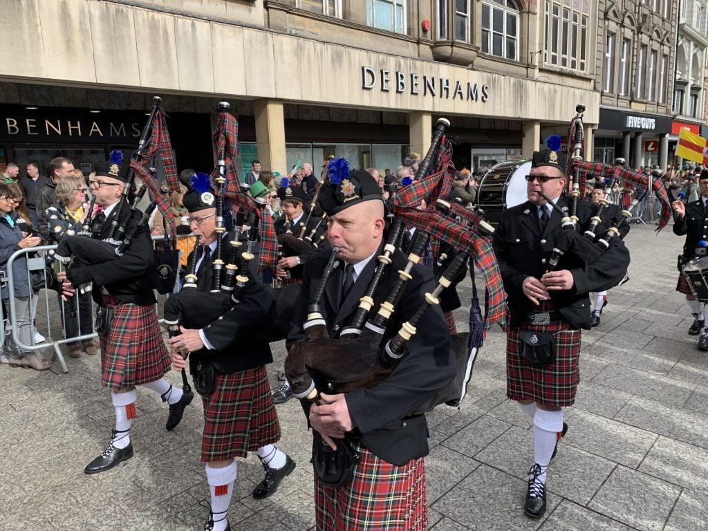 Nottingham St Patrick's Day Parade 2019