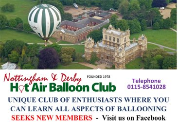 balloon club advert