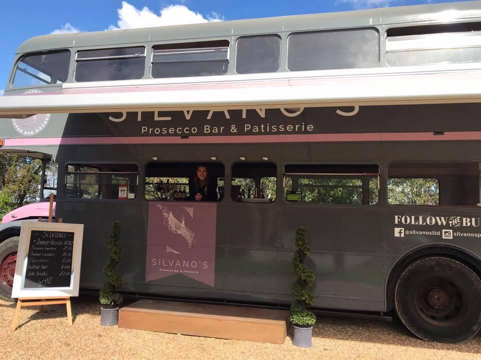 Prosecco and patisserie bus leads FREE festival at Wollaton Park!