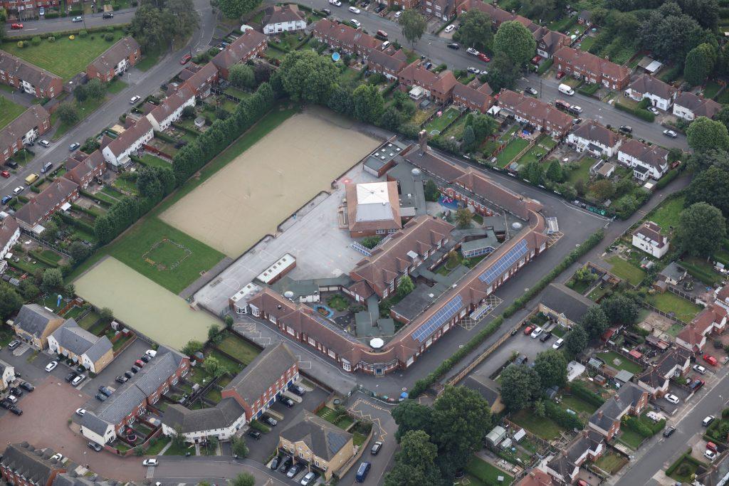Beeston - Beeston Fields Primary & Nursery School on Boundary Rd - photo Robin Macey