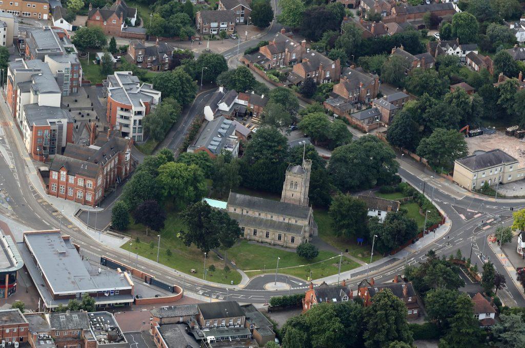 Beeston Parish Church on Styring St - photo Robin Macey