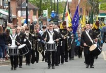 West Bridgford St George's Day Parade 2019