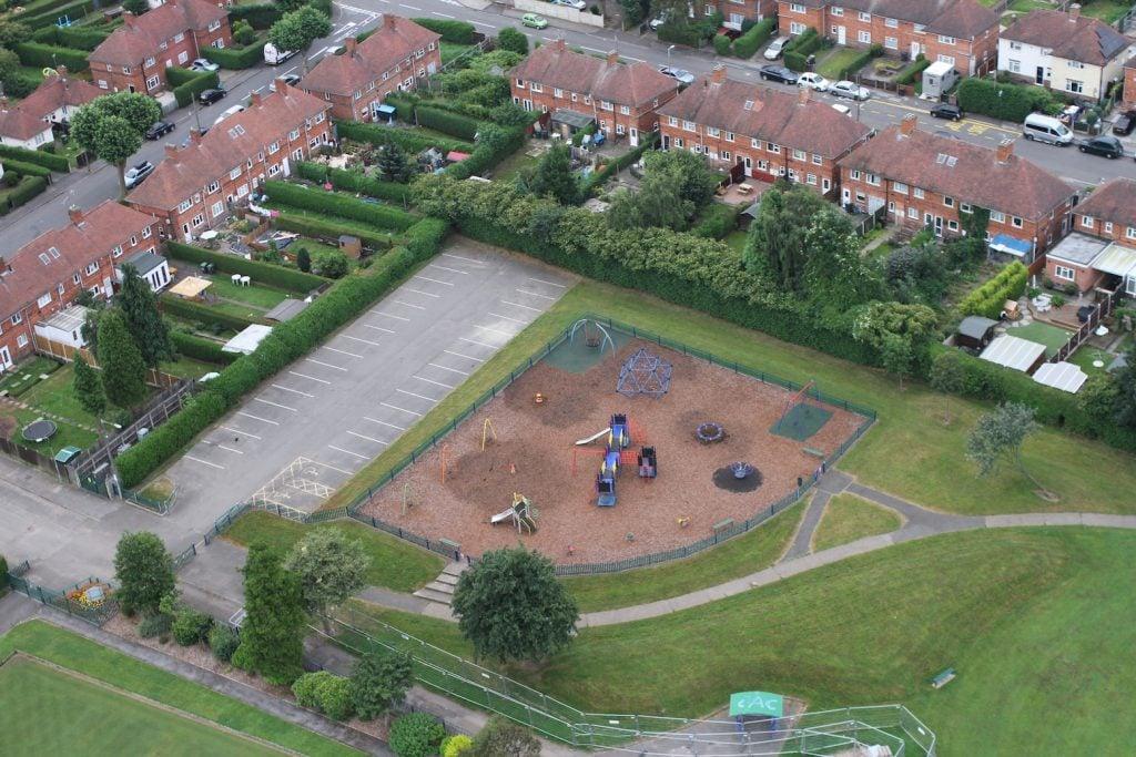 Beeston Fields Recreation Ground - photo Robin Macey