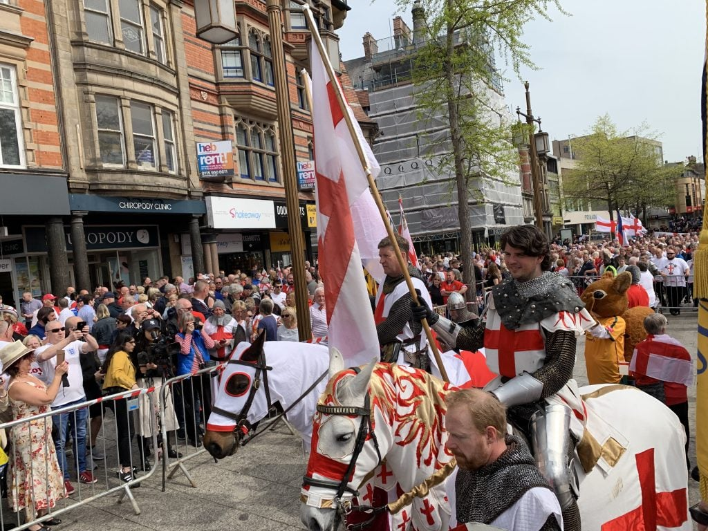 Pictures: Nottingham St George's Day Parade 2019