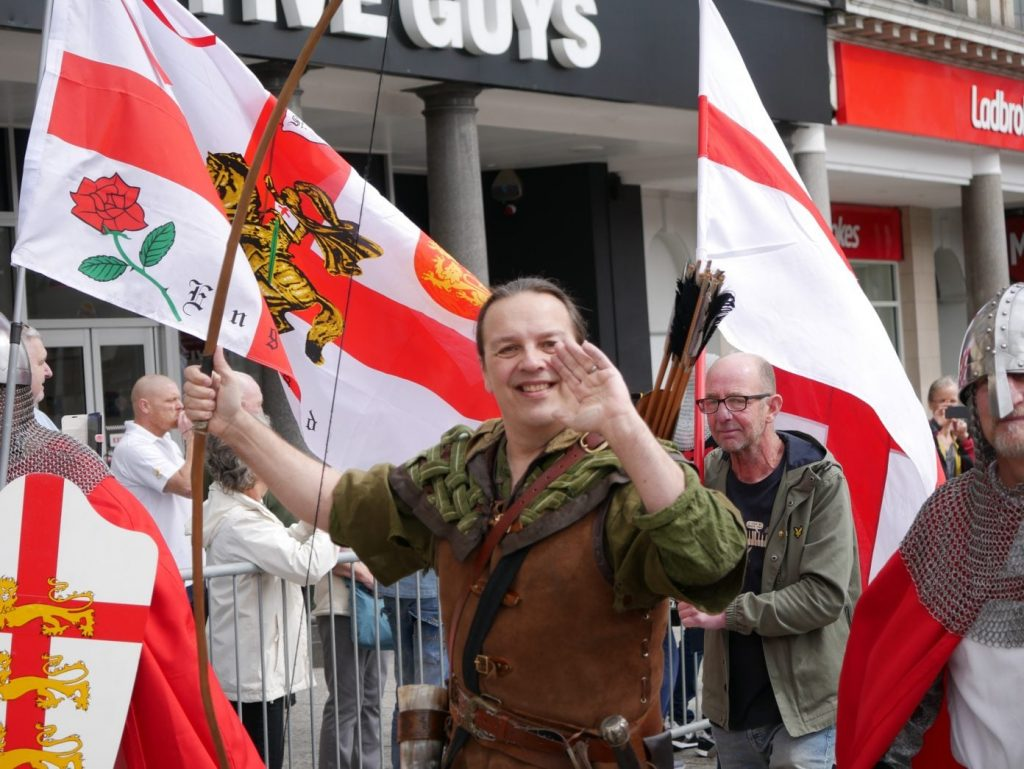 Nottingham St George's Day Parade 2019