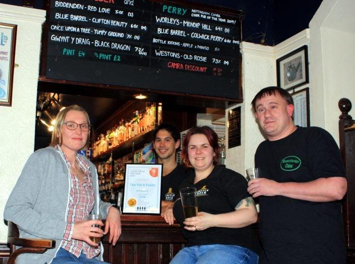 Cider Pub of the Year award