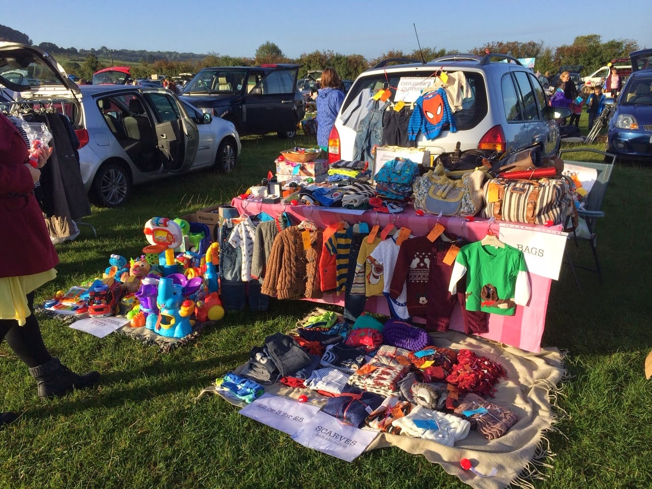 Car Boot Sale At Abbey Road Primary School West Bridgford Wire