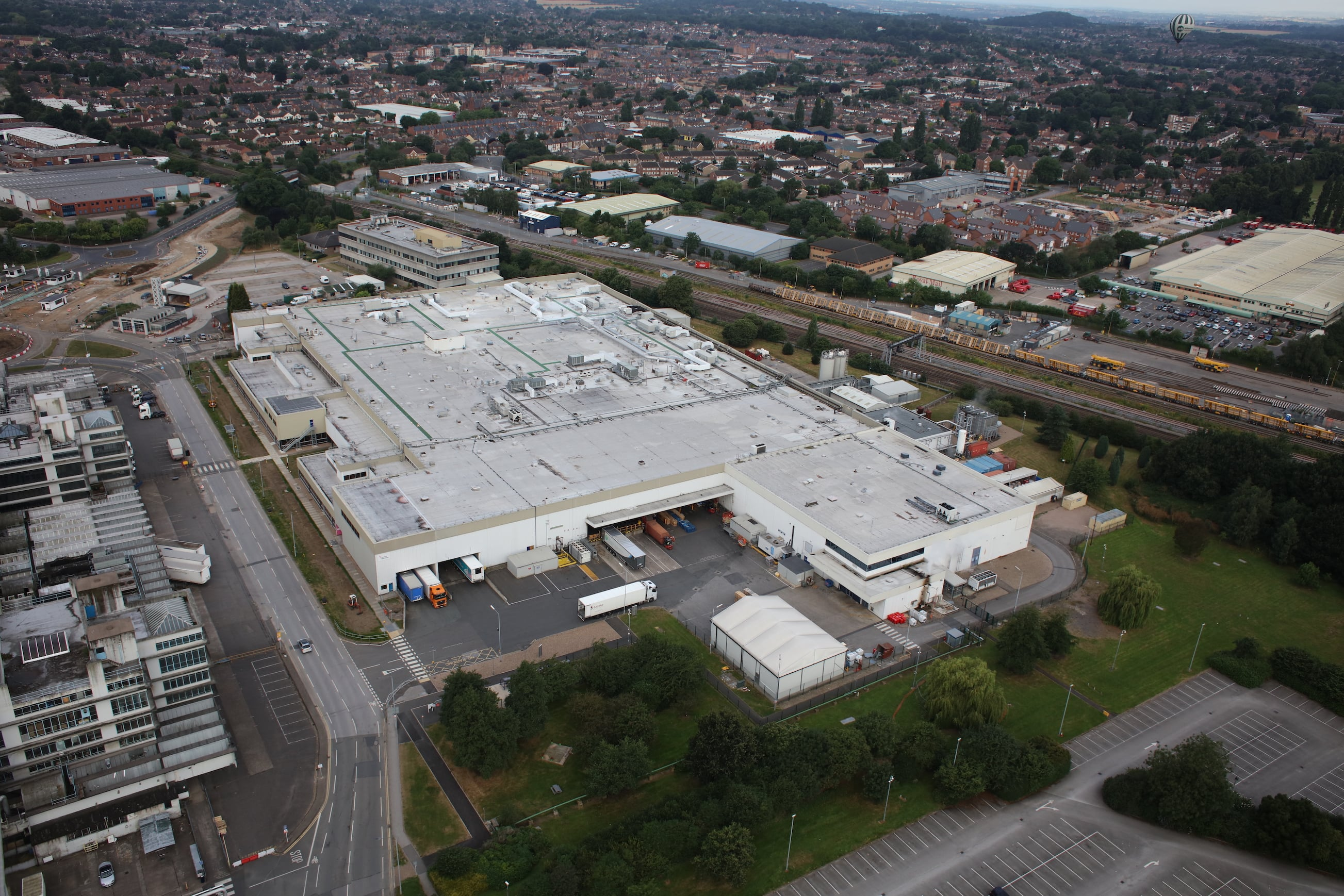 D95 building - the largest tablet factory in Europe - photo Robin Macey