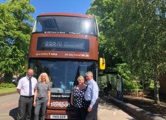Bus named after award-winning Nottingham nurse