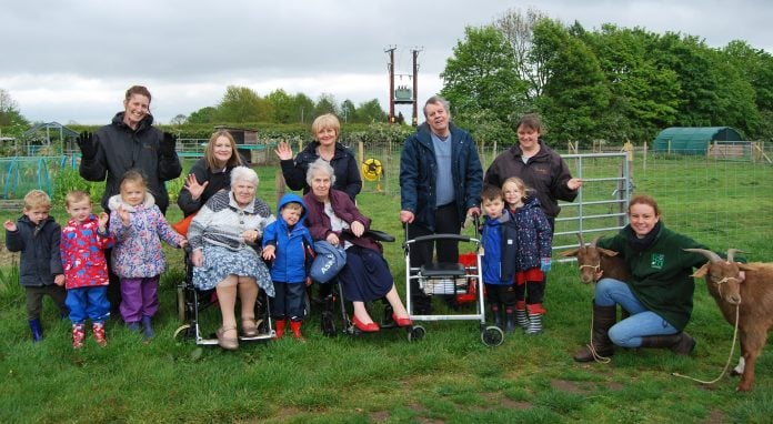 Members of Serendipty's Nursery and Beauvale Care Home visit 'All Things Magic'
