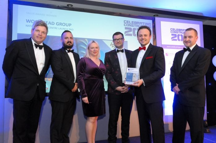 The construction group also won the Value award for the National Space Centre project