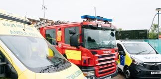 emergency services police ambulance fire