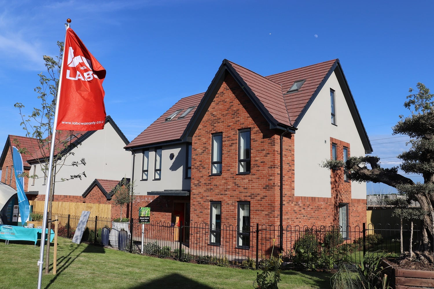 Rufford Pastures in Edwinstowe has been recognised as the best residential development of its type in the region by the Local Authority Building Control