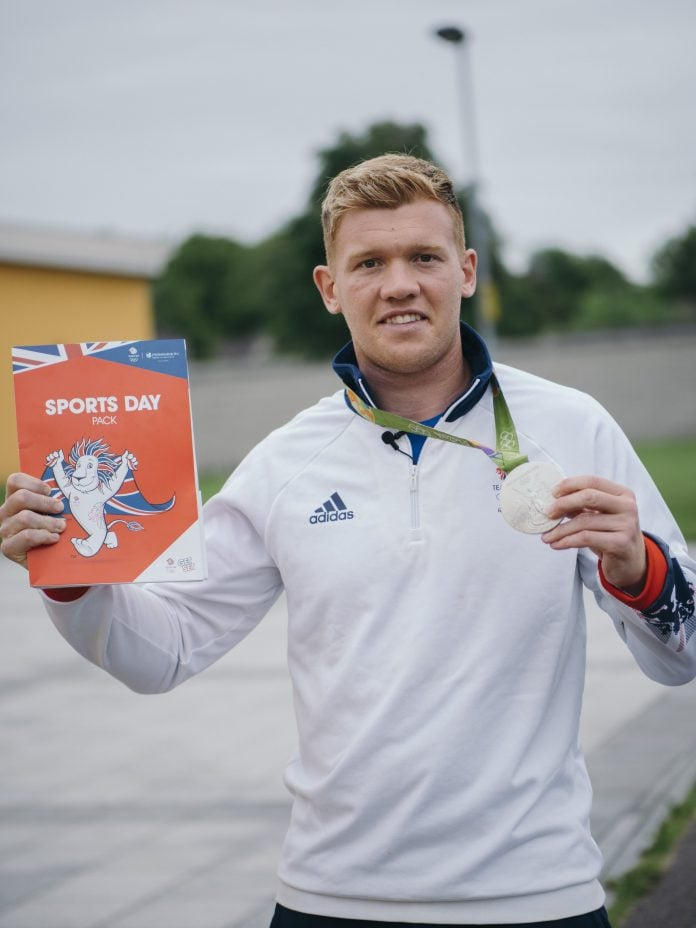 Sam Cross Rugby Sevens Olympic Silver Medalist Rio 2016 min