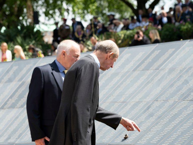 In Pictures: HRH Duke of Kent unveils new Nottinghamshire war memorial