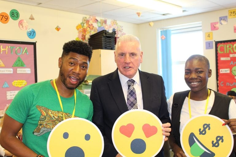 Vernon Coaker MP discusses digital citizenship with young people