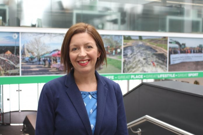 Rushcliffe Borough Councils new interim Chief Executive Kath Marriott