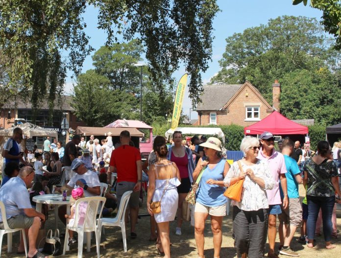 The Taste of Rushcliffe Food Festival takes place on Saturday 13 July in West Bridgford