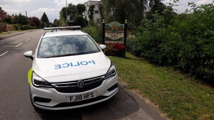 radcliffe police cara