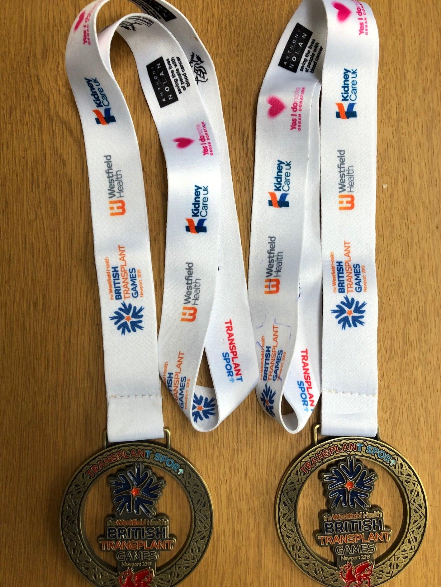 Gold medals Newport