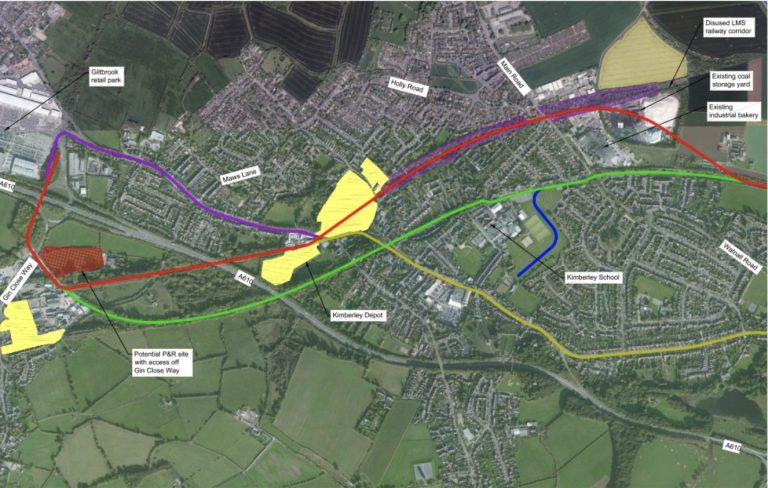 Plans for new Nottingham tram route to IKEA