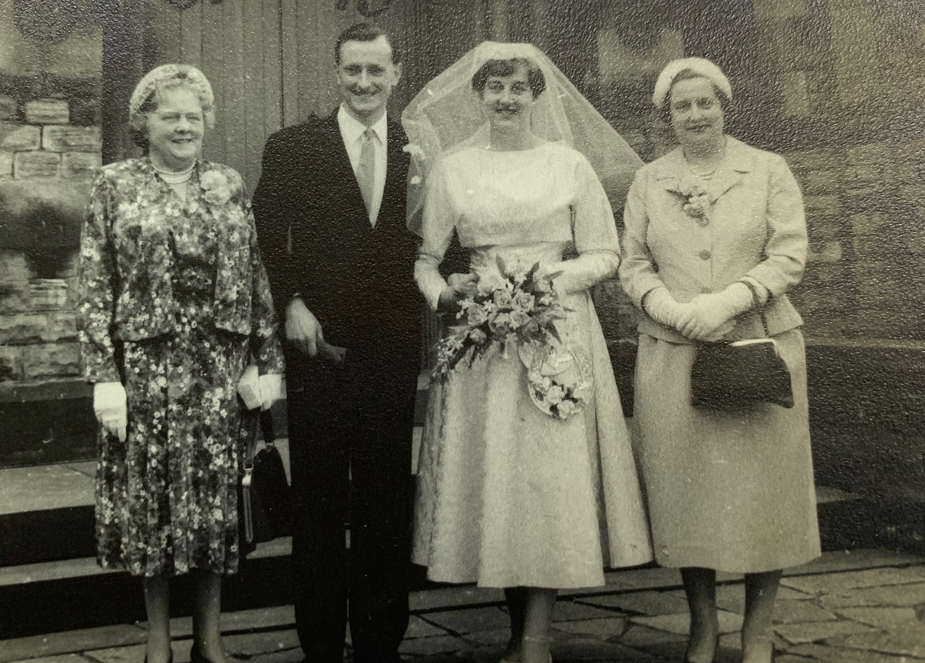 wilford care home couple celebrate 60th wedding
