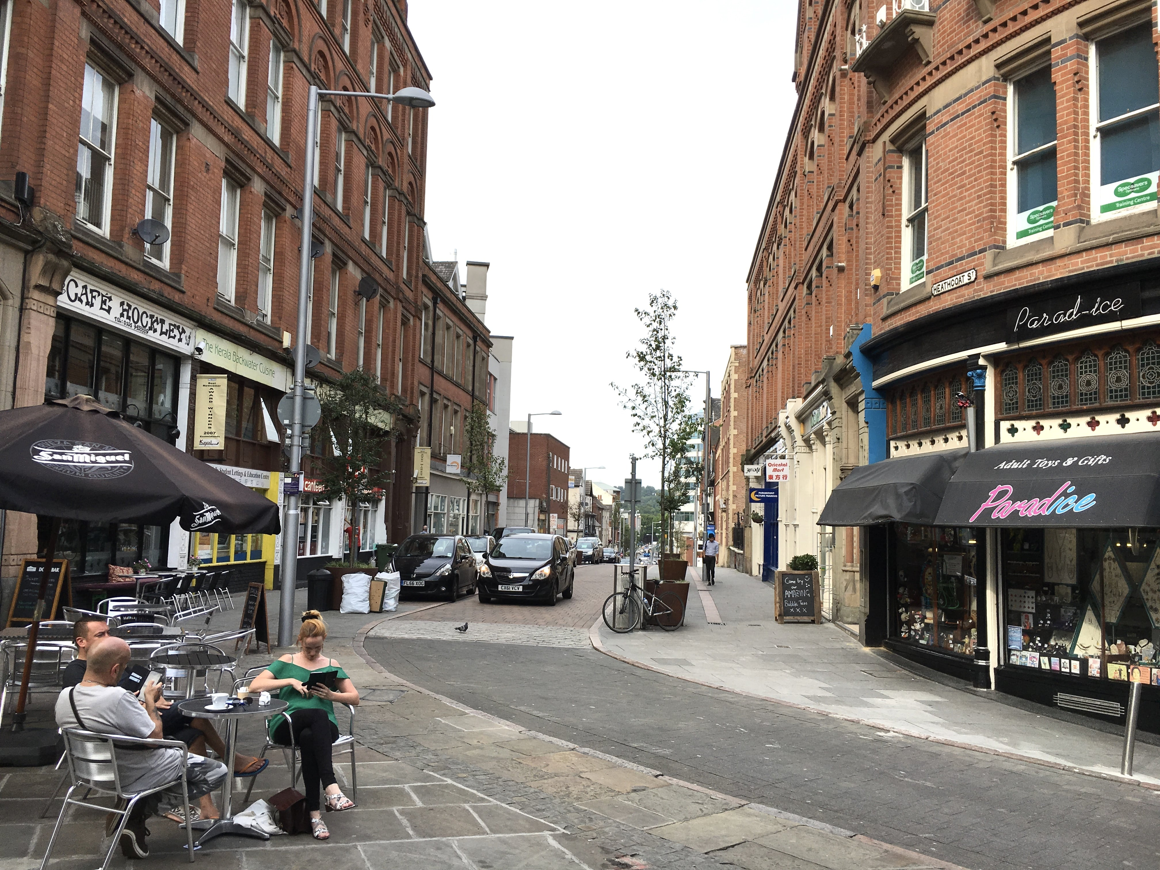 Nottingham city street to become pop-up park for Car Free Day