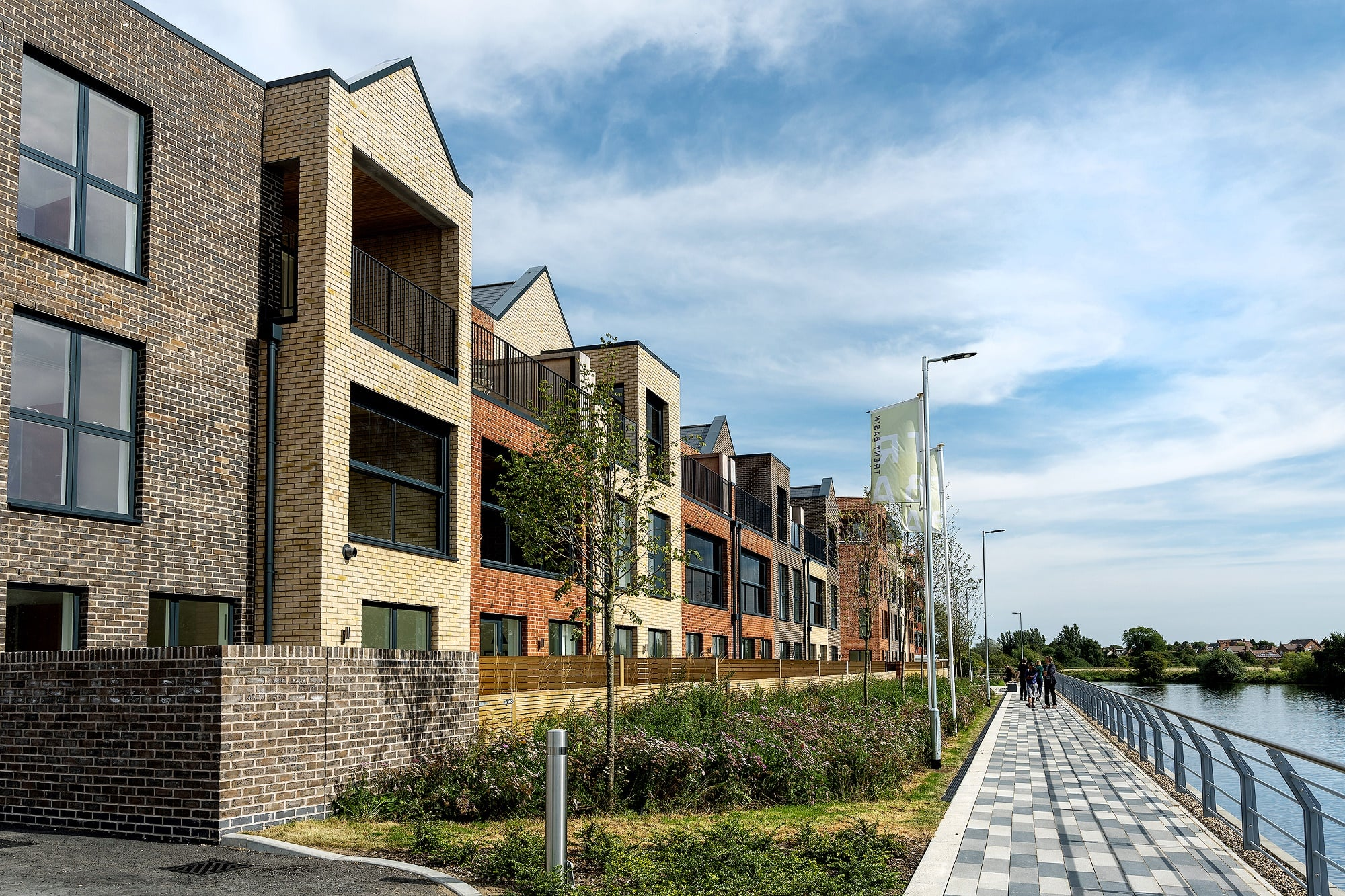 Trent Basins Riverside Homes in Phase Two