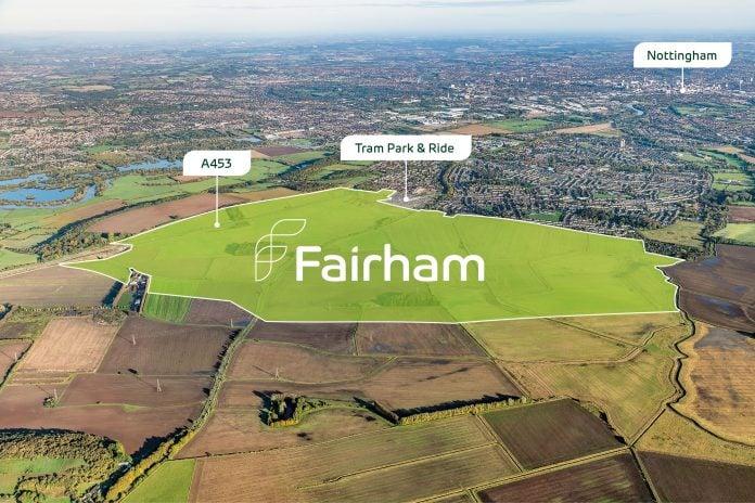 Fairham site aerial