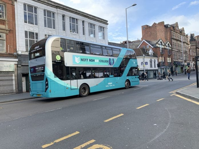 Contactless Payments launch on Nottingham City Transport buses
