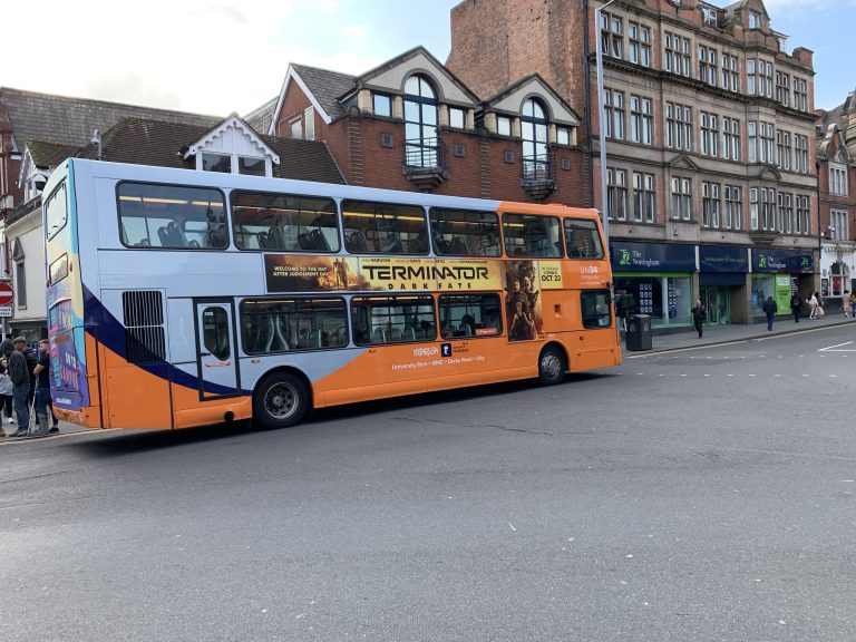 A52 lane reopens: Nottingham bus services changes – 4:30 pm 12 February