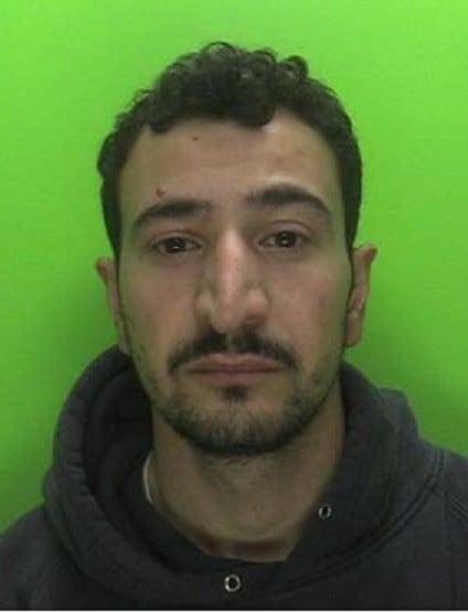 Kosav Mohammadi custody pic